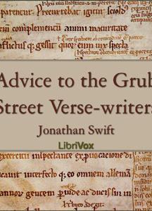 Advice to the Grub Street Verse-writers