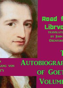 Autobiography of Goethe Volume 2