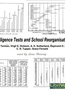 Intelligence Tests and School Reorganisation