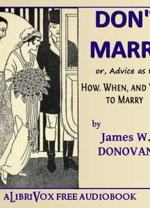 Don't Marry