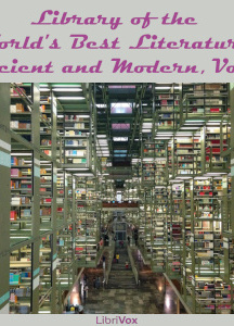 Library of the World's Best Literature, Ancient and Modern, volume 9