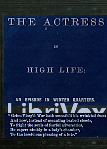 Actress in High Life: An Episode in Winter Quarters